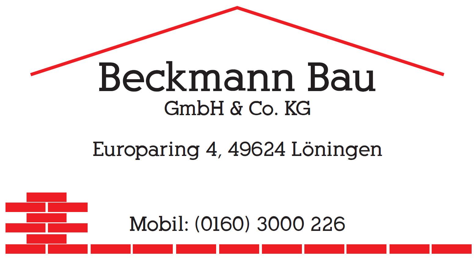 Logo: Beckmann Bau