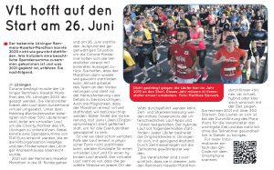 zum Bild: Bericht CLP News - Wochenzeitung für Cloppenburg und umzu, vom 24.01.2021.
