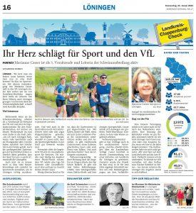 zum Bild: Bericht der Nordwest-Zeitung vom 21.01.2021.