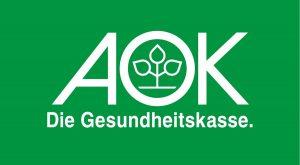 zum Bild: Logo der AOK.