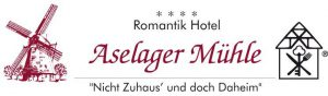 zum Bild: Logo Romantik Hotel Aselager Mühle.