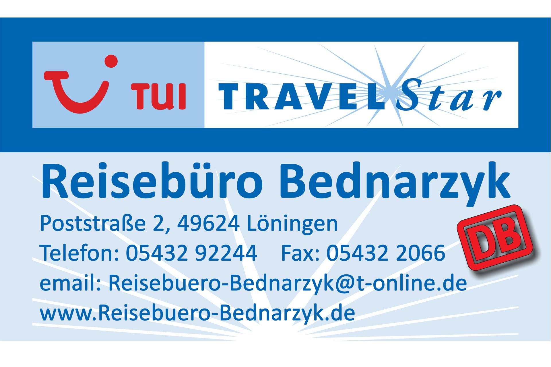 Logo Reisebüro Bednarzyk