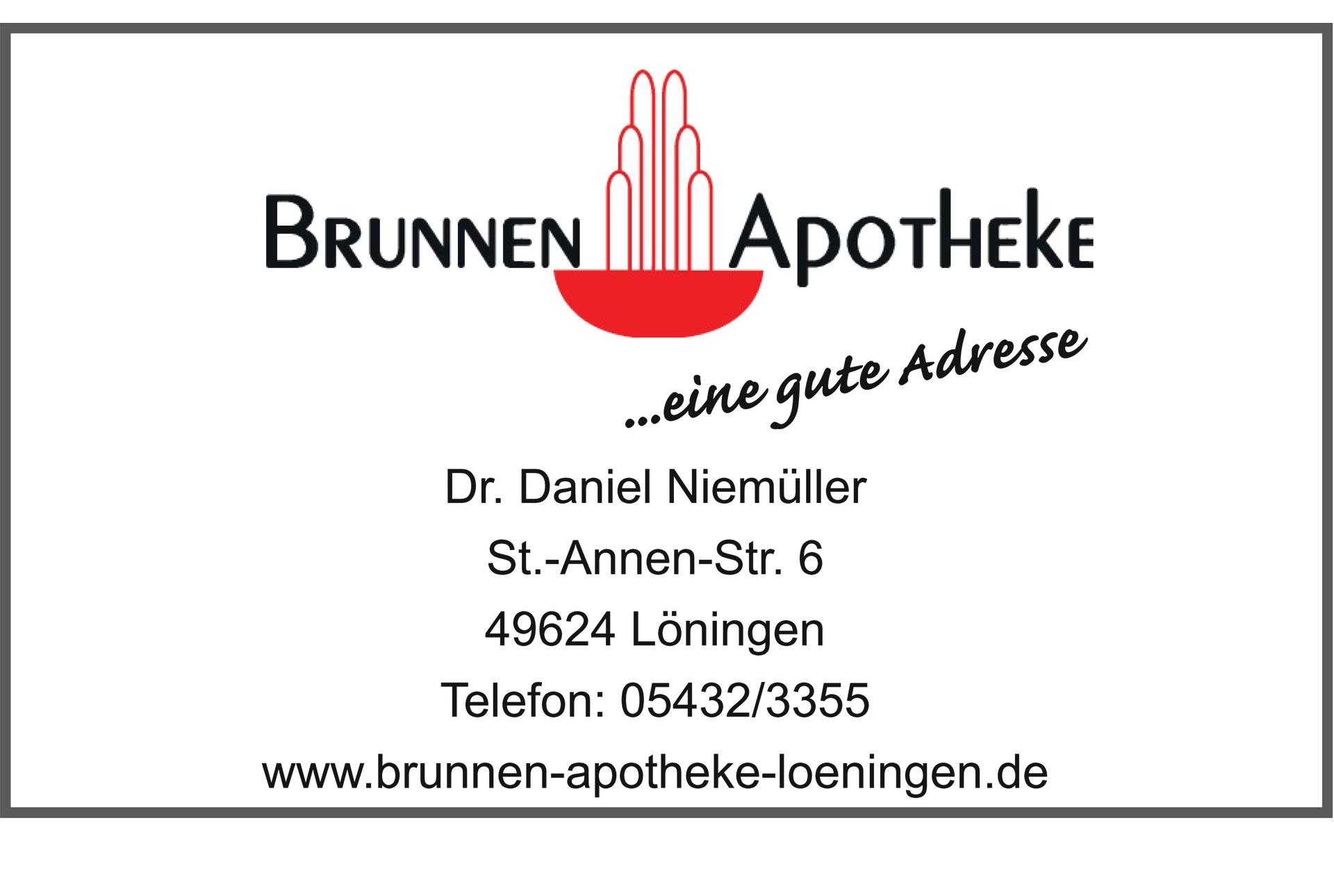 zum Bild: Logo Brunnen Apotheke Löningen.