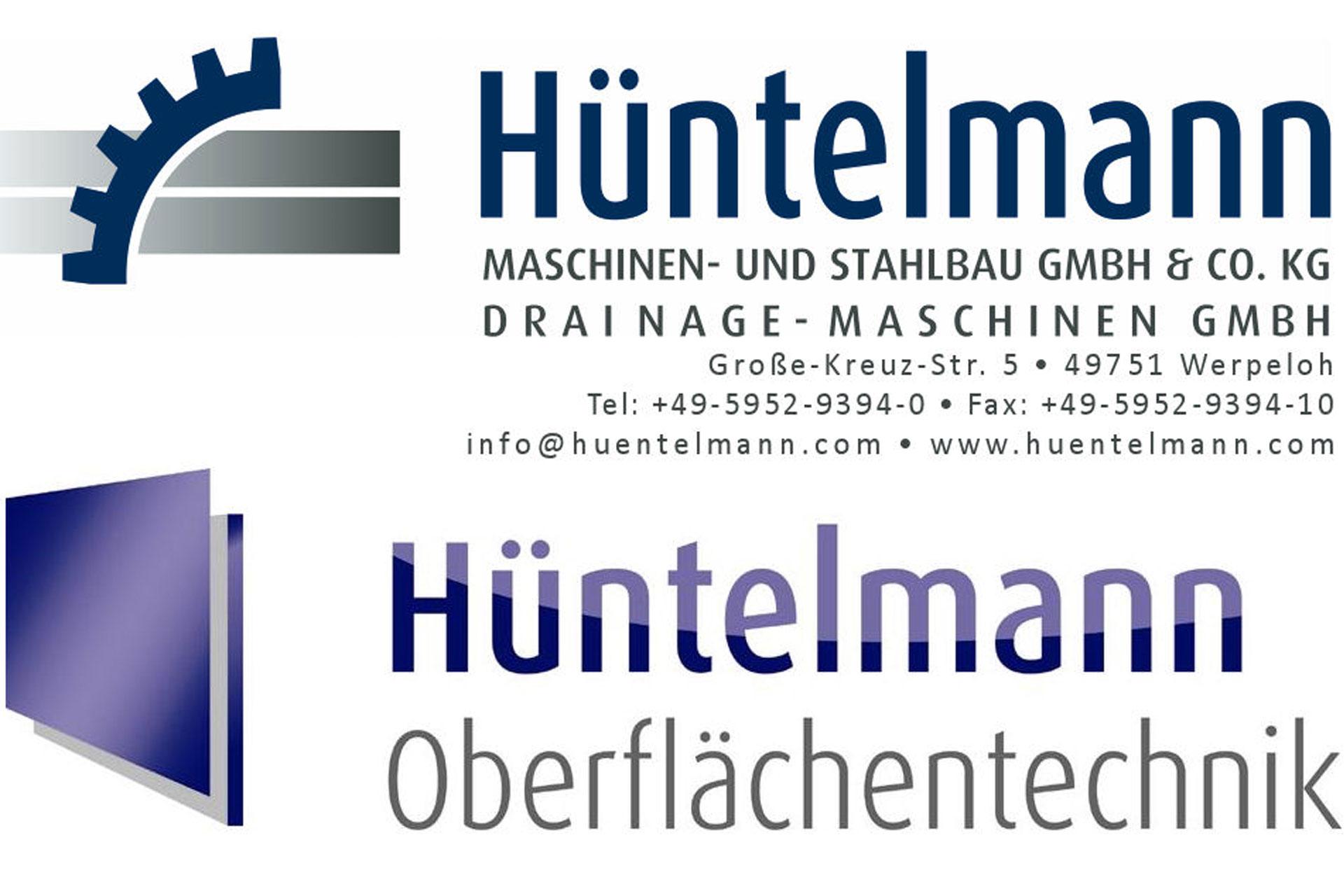 Logo Hüntelmann Maschinen- u. Stahlbau GmbH & Co. KG