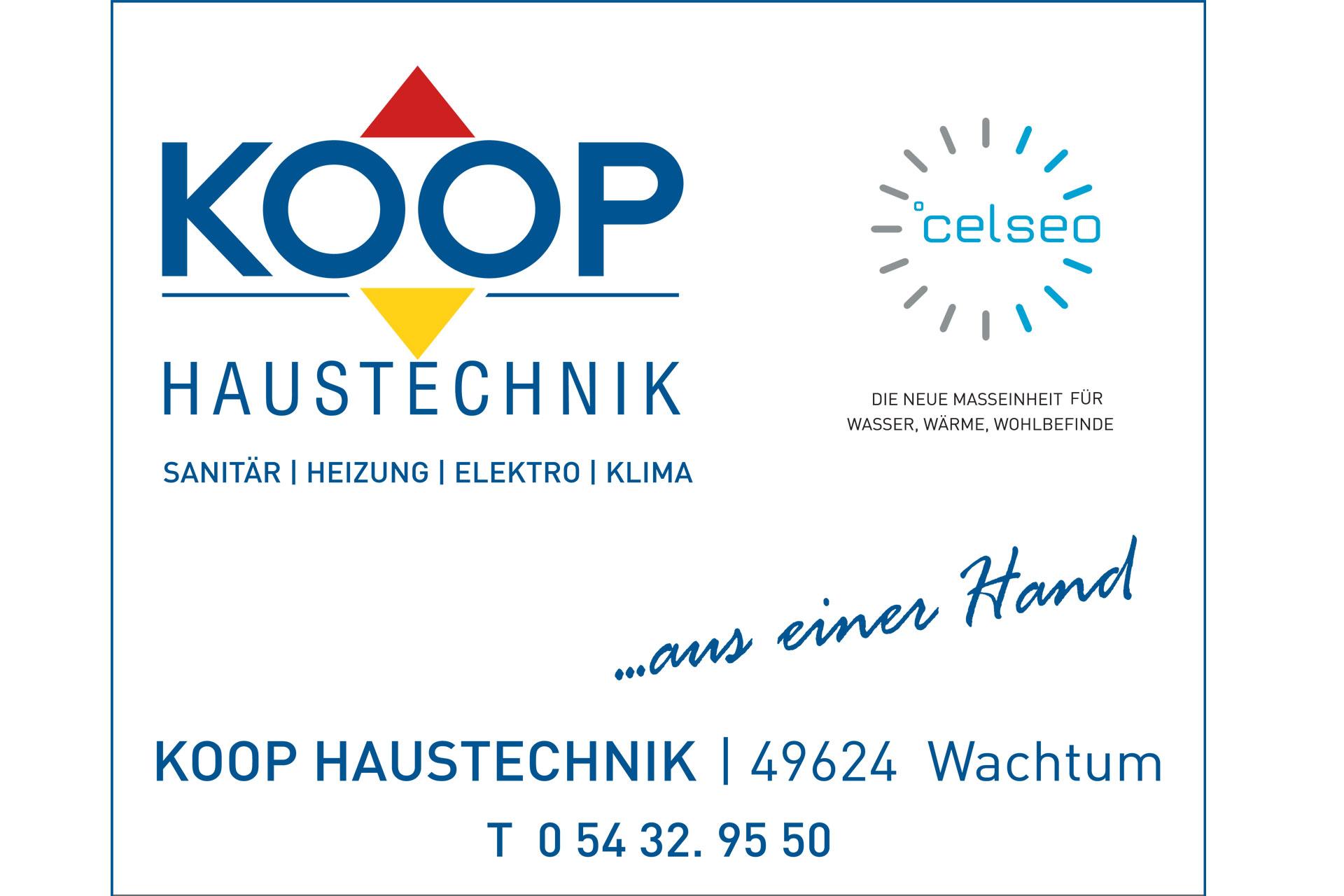 zum Bild: Logo Koop Haustechnik.
