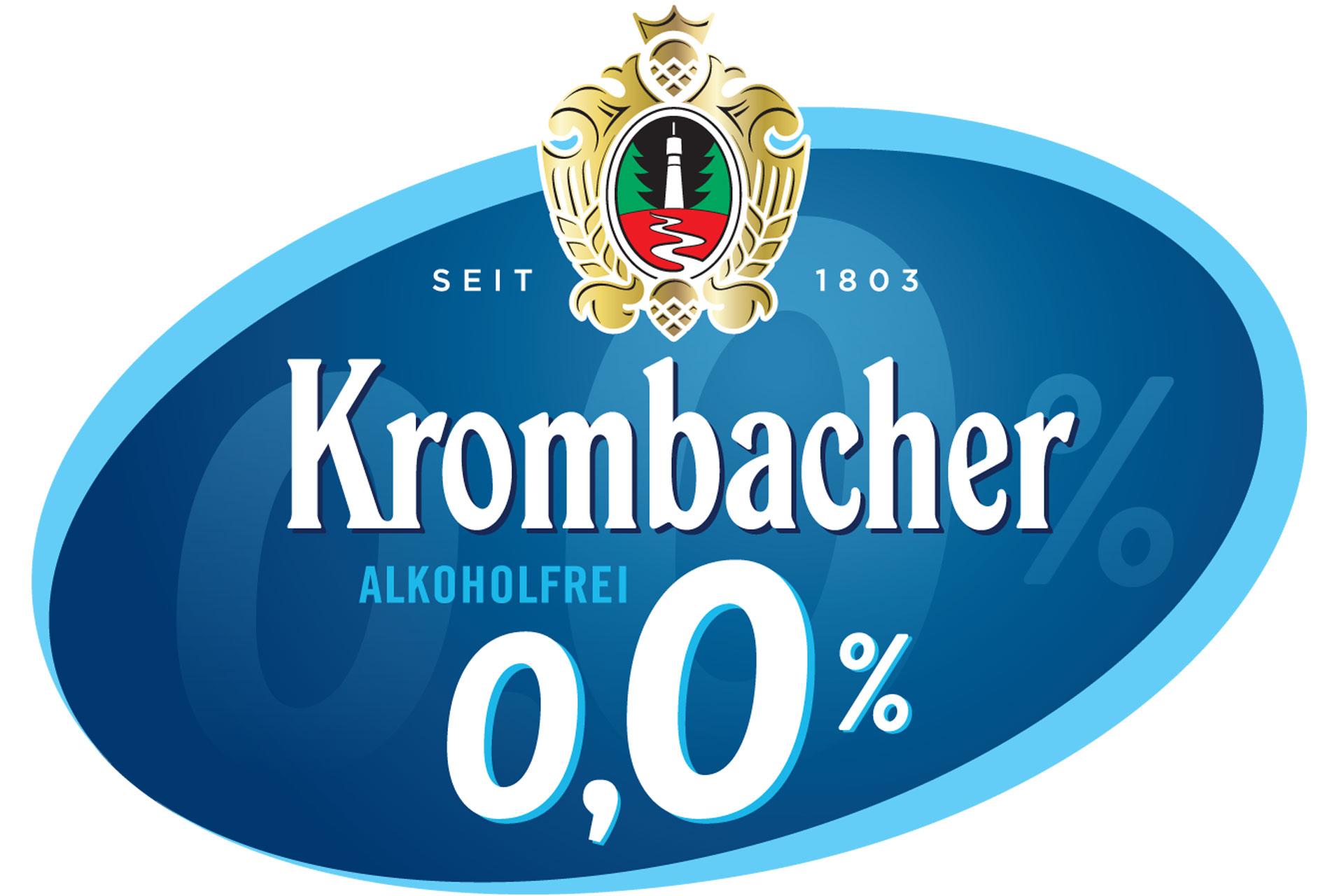 Logo Krombacher o,0%