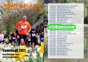 zum Bild: Newsmagazin Jan./Feb. 2021 von Marathon4You (M4Y).