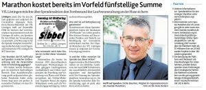 zum Bild: Bericht der Münsterländischen Tageszeitung vom 06.05.2020.