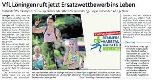 zum Bild: Bericht der Münsterländischen Tageszeitung vom 19.05.2020.