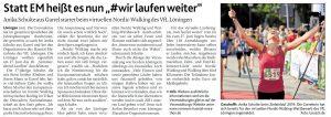 zum Bild: Bericht der Münsterländischen Tageszeitung vom 28.05.2020.