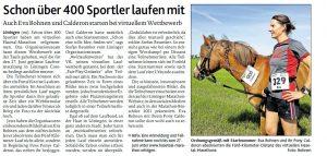 zum Bild: Bericht der Münsterländischen Tageszeitung vom 24.06.2020.
