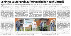 zum Bild: Bericht der Münsterländischen Tageszeitung vom 15.12.2020.