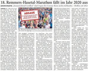 zum Bild: Bericht der Nordwest-Zeitung vom 21.04.2020.