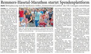 zum Bild: Bericht der Nordwest-Zeitung vom 06.05.2020.