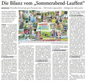 zum Bild: Bericht der Nordwest-Zeitung vom 03.07.2020.