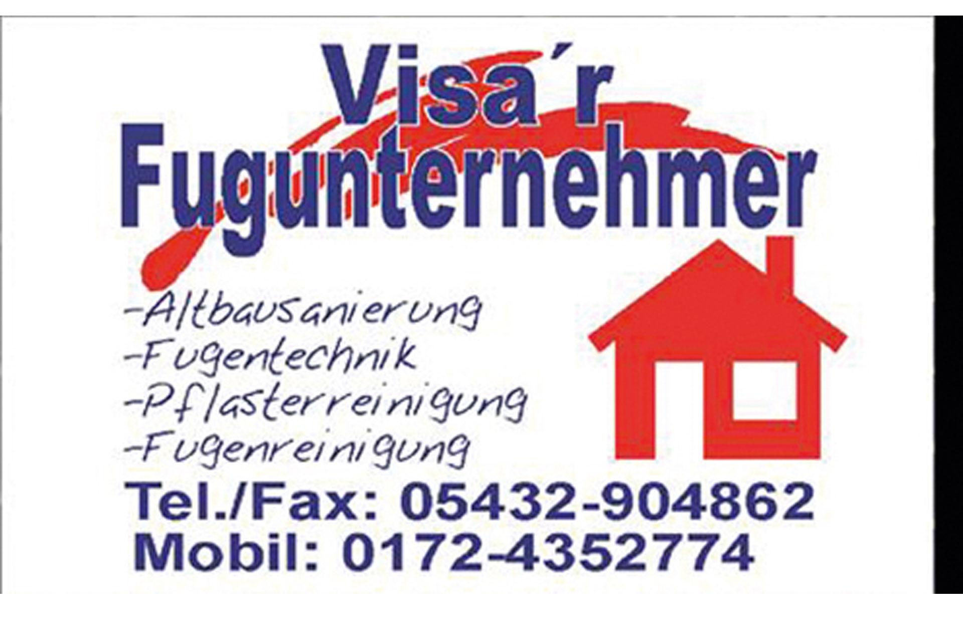 Logo Visa´s Fugunternehmen