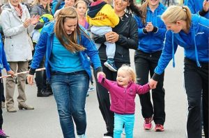 zum Bild: Erstmals findet in diesem Jahr beim Remmers-Hasetal-Marathon des VfL Löningen mit dem ´Graepel-Bambini-Lauf´ auch eine Disziplin für Kinder im Kindergartenalter statt. Foto: tvepe.he-hosting.de