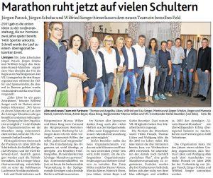 zum Bild: Bericht der Münsterländischen Tageszeitung vom 28.08.2017.