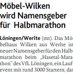 zum Bild:Bericht der Münsterländischen Tageszeitung vom 11.01.2018.