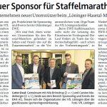 zum Bild:Bericht der Münsterländischen Tageszeitung vom 13.01.2018.