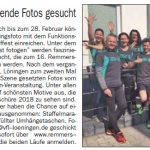 zum Bild:Bericht im Cloppenburger Wochenblatt vom 24.01.2018.