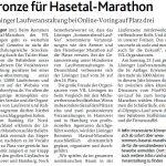 zum Bild:Bericht der Münsterländischen Tageszeitung vom 25.01.2018.