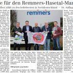 zum Bild:Bericht im Volltreffer - der Lokalzeitung vom 08.02.2018.