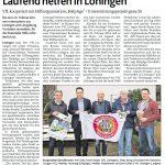 zum Bild:Bericht der Münsterländischen Tageszeitung vom 09.02.2018.