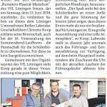 zum Bild:Bericht der Münsterländischen Tageszeitung vom 03.03.2018.