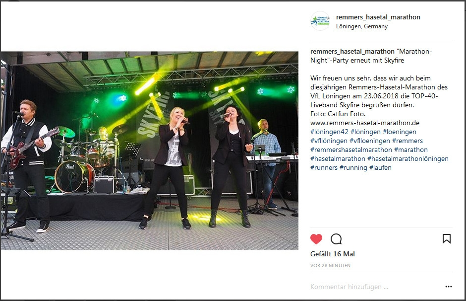 zum Bild: Screenshot www.instagram.com/remmers_hasetal_marathon.