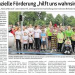zum Bild:Bericht der Münsterländischen Tageszeitung vom 27.03.2018.