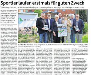 zum Bild: Bericht der Münsterländischen Tageszeitung vom 26.04.2018.