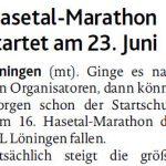 zum Bild:Bericht der Münsterländischen Tageszeitung vom 04.05.2018.