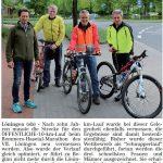 zum Bild:Bericht im Volltreffer - der Lokalzeitung vom 17.05.2018.