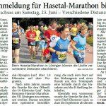 zum Bild:Bericht der Nordwest-Zeitung vom 30.05.2018.