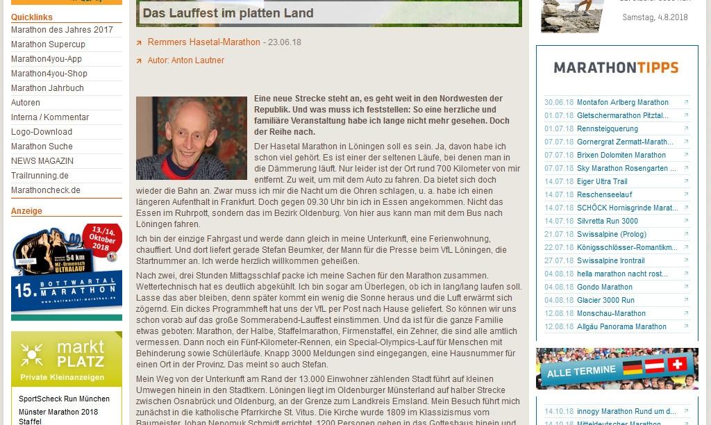 zum Bild:Bericht auf marathon4you.de.