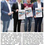 zum Bild:Bericht im Volltreffer - der Lokalzeitung vom 25.10.2018.