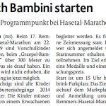 zum Bild:Bericht der Münsterländischen Tageszeitung vom 08.11.2018.
