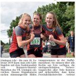 zum Bild:Bericht im Volltreffer - der Lokalzeitung vom 13.12.2018.