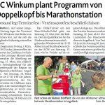 zum Bild:Bericht der Münsterländischen Tageszeitung vom 29.01.2019.