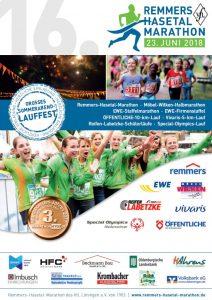zum Bild:Titelseite Marathon-Broschüre 2018.