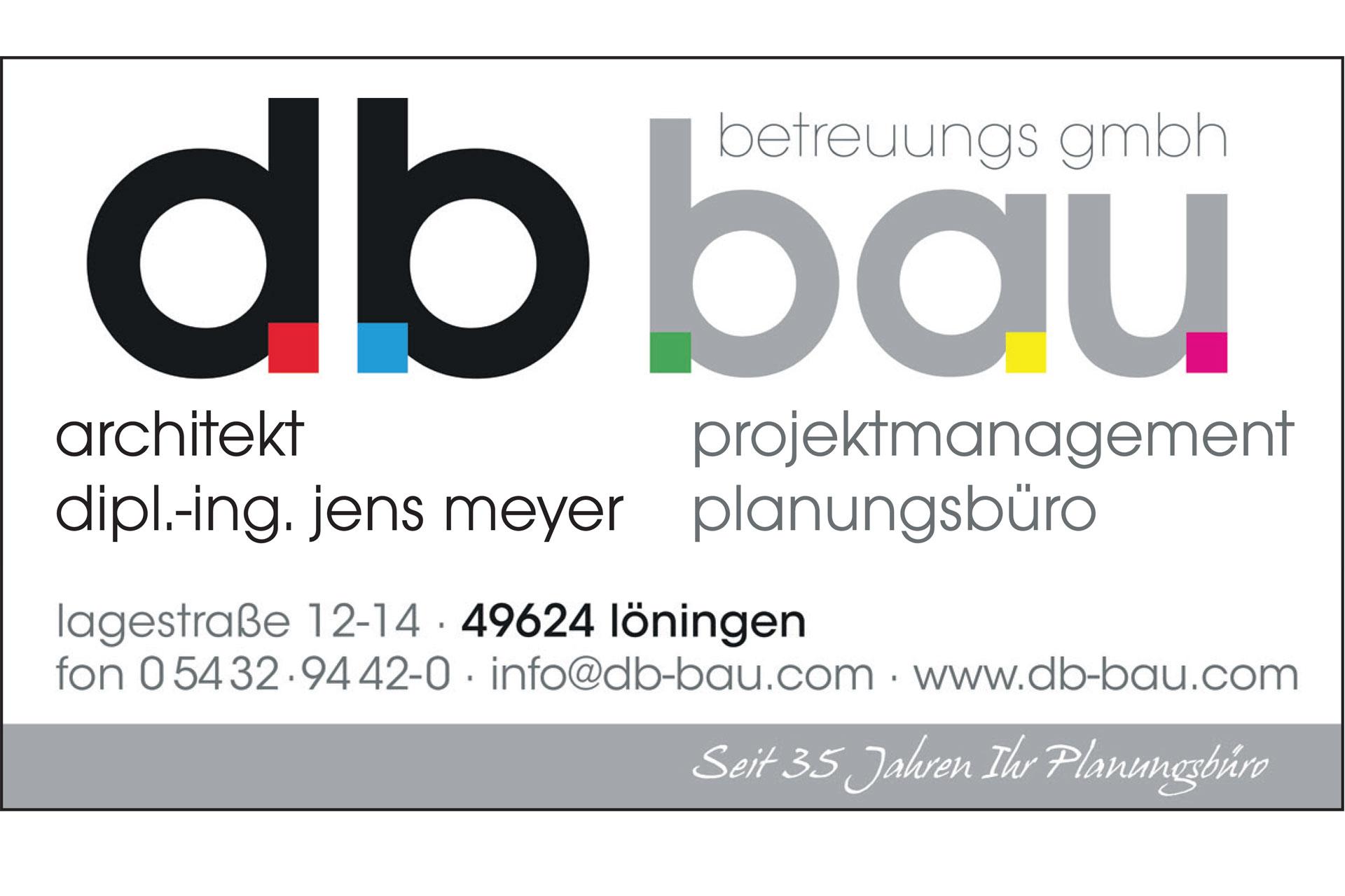 zum Bild: Logo db-bau-betreuungs GmbH.