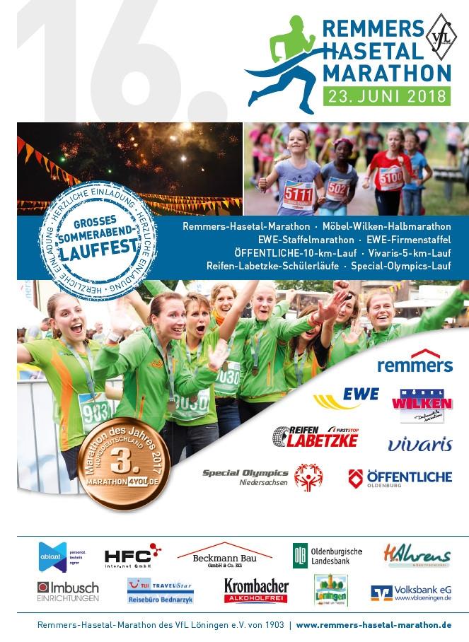 zum Bild: Das Deckblatt des Info- und Anmeldeflyers 2018.