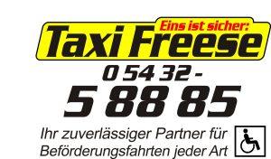 zum Bild: Logo Taxi Freese aus Löningen.