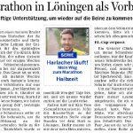 zum Bild:Bericht in der Meppener Tagespost, der Lingener Tagespost und der Ems-Zeitung.