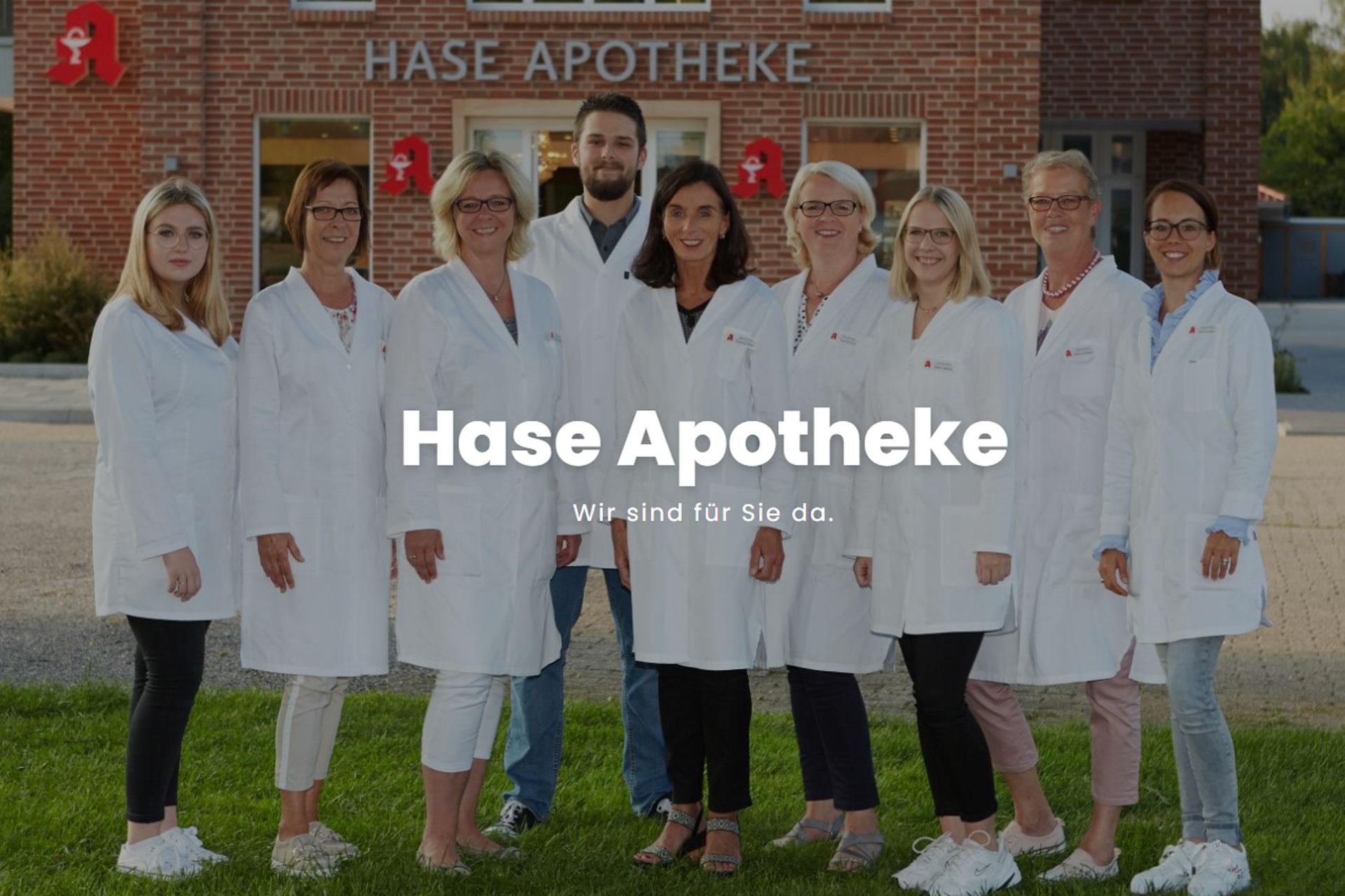 zum Bild: Hase Apotheke.