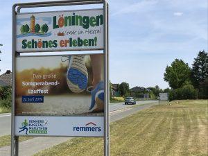 zum Bild: Foto: Remmers-Hasetal-Marathon des VfL Löningen.