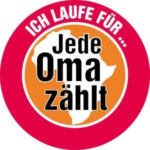 "zum Bild: Logo ""Jede Oma zählt""."