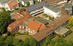 zum Bild: Luftaufnahme der St. Anna Klinik Löningen.