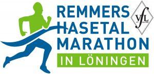 zum Bild: Das aktualisierte Logo des Remmers-Hasetal-Marathon beim VfL Löningen.